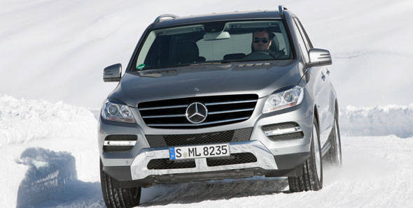 2012 Mercedes ML350CDI 4Matic first drive