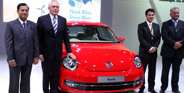 2012 Auto Expo - Volkswagen unveils XL1 concept, Touareg and Beetle