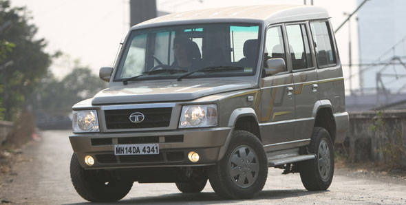 Tata Sumo Gold first drive