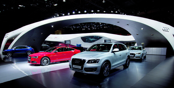 """The winners of """"Experience luxury with Audi at 2012 Auto Expo"""""""
