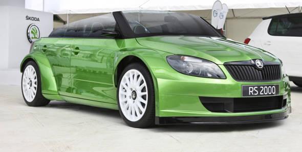 2012 Auto Expo – Skoda displays RS 2000