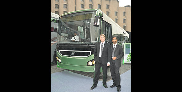Volvo doubles its range in India with the launch of city bus and coaches