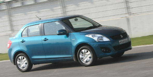 2012 Maruti Swift Dzire first drive