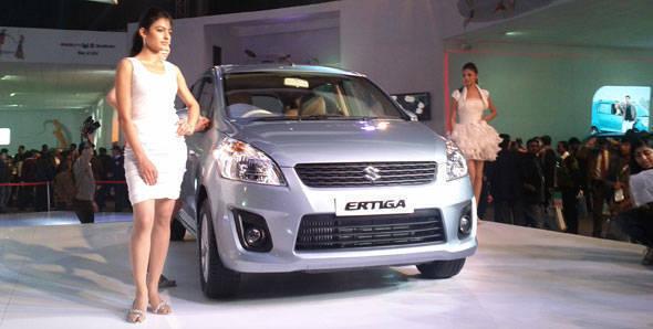 2012 Auto Expo – Maruti Ertiga unveiled
