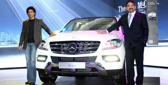 Auto Expo 2012 – Mercedes launch two new models