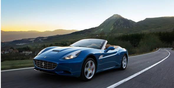 Ferrari to show face-lifted California at Geneva Show