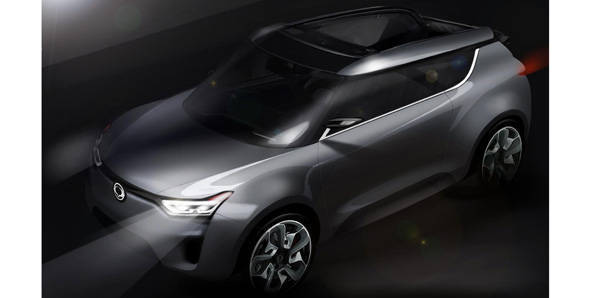 SsangYong's XIV-2 crossover first look revealed