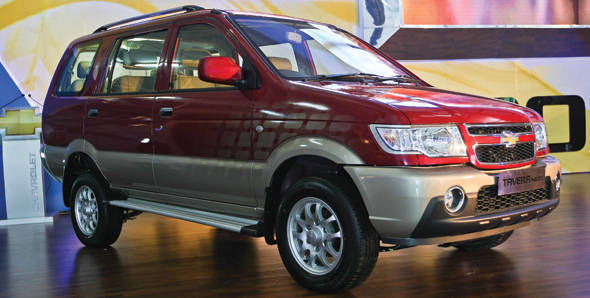 Chevrolet launches the upgraded Tavera Neo 3