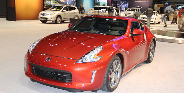 New Nissan 370Z unveiled at Chicago Auto Show