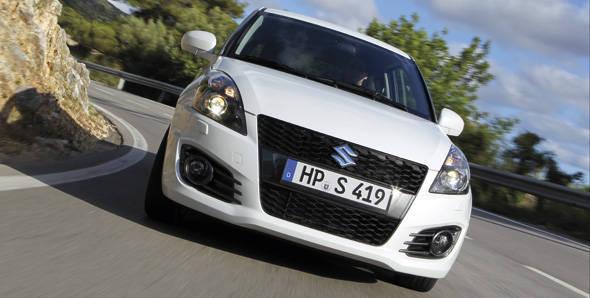 2012 Suzuki Sport first drive