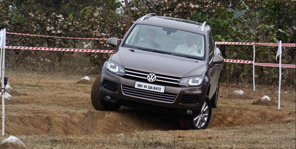 2012 Volkswagen Touareg first drive