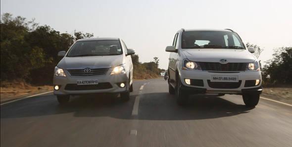 2012 Toyota Innova vs Mahindra Xylo E9