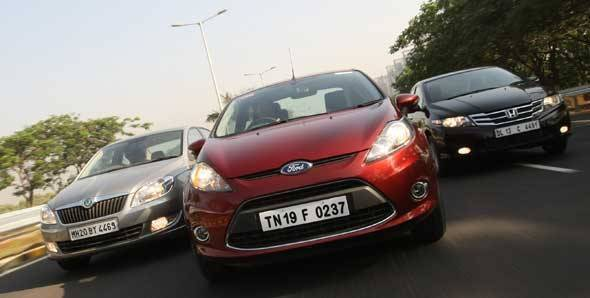 Fiesta vs Vento vs Rapid auto