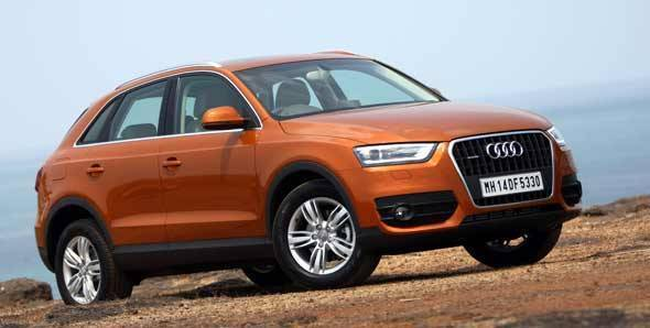 2012 Audi Q3 in India road test