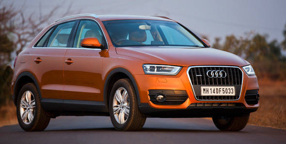 Audi launches the Q3 at Rs 26.21 lakh
