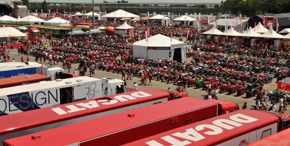 World Ducati Week 2012