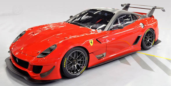 Ferrari has started online auction for earthquake victims