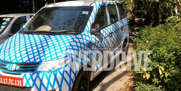 Chevrolet Enjoy MPV spotted