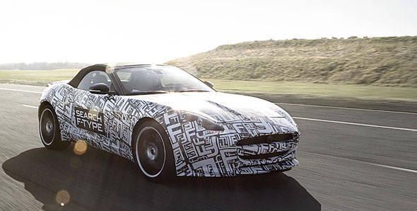Jaguar F-Type will debut at Goodwood