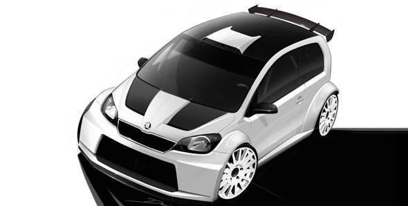 Skoda displays Citigo rally concept at Worthersee