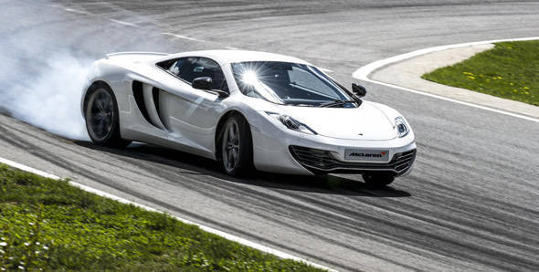 McLaren MP4-12C gets power upgrade