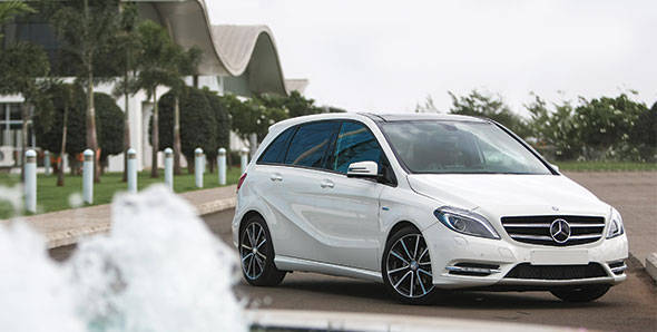2012 Mercedes B-Class in India first drive