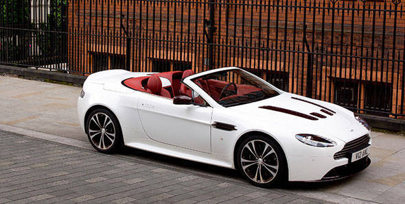 Launched – 2012 Aston Martin V12 Vantage Roadster