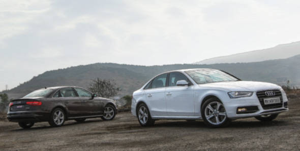 2012 Audi A4 in India road test