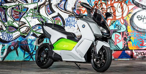 Unveiled – 2012 BMW C Evolution E-Scooter