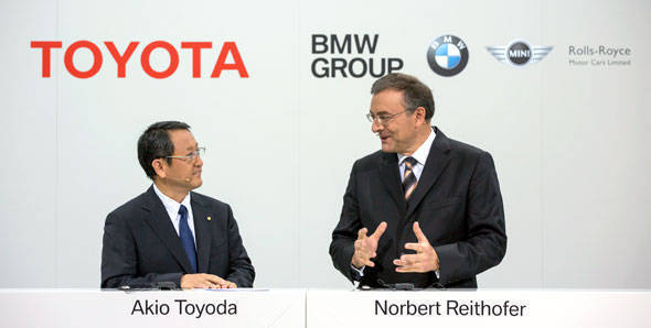 BMW and Toyota join hands for a new sports car
