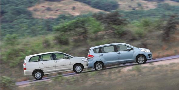 2013 Toyota Innova GX vs Maruti Ertiga ZDi
