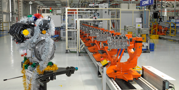 Ford increases production of engines in Chennai plant