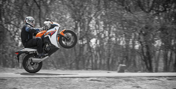 2012 Honda CBR150R road test