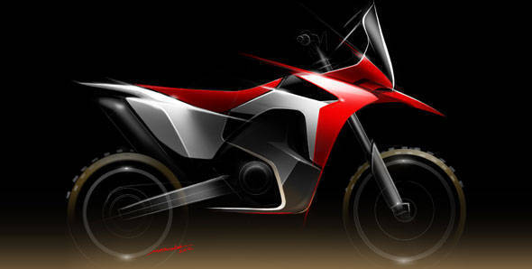 Honda will take part in the 2013 Dakar Rally