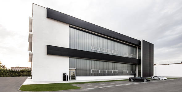 New prototype development centre for Lamborghini