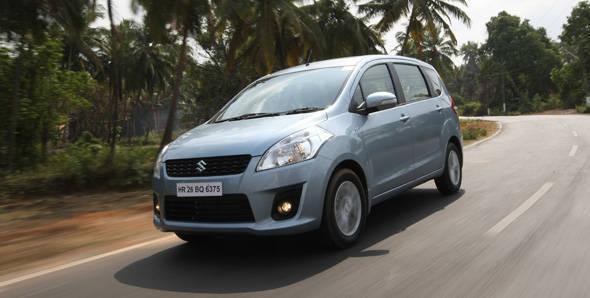 2012 Maruti Ertiga in India road test