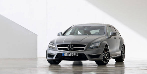 Unveiled – Mercedes CLS63 AMG Shooting Brake