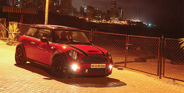 2012 Mini Cooper S in India road test