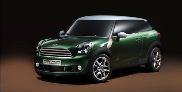 Mini to launch Paceman in 2013