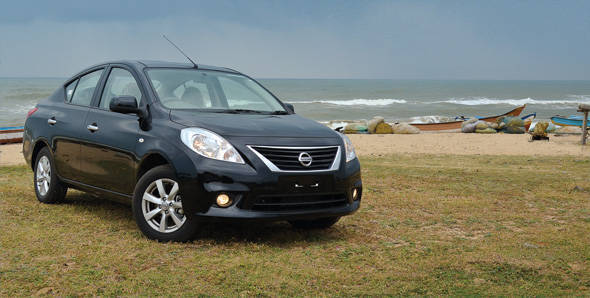 The Nissan Sunny that we have on sale in India now