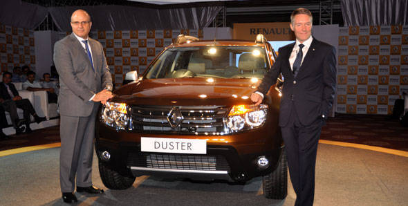 Launched – Renault Duster in New Delhi
