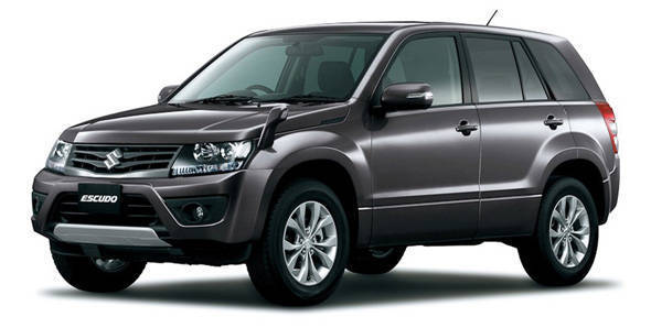 Unveiled – 2012 Suzuki Escudo in Japan