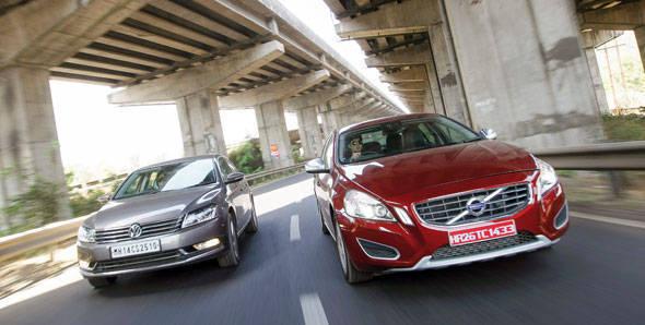 Volvo S60 vs Passat