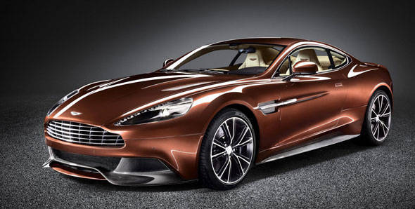 Launched – Aston Martin Vanquish in India