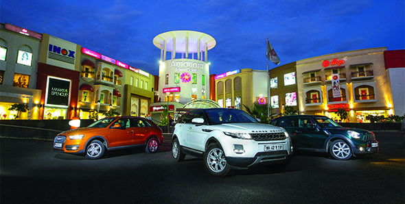 2012 Audi Q3 vs Range Rover Evoque vs Mini Cooper S Countryman