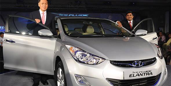 Launched – 2012 Hyundai Elantra in India