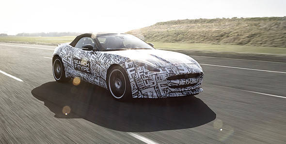 Jaguar F-Type to make its production debut in Paris Motor Show 2012