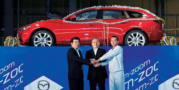Production of new Mazda6 starts at Hofu plant