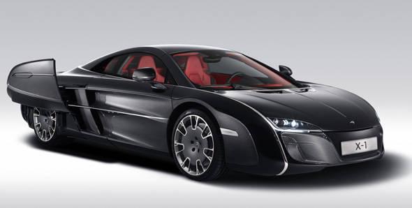 Unveiled – McLaren X-1 Concept supercar