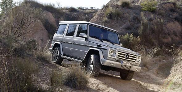 Unveiled – 2013 Mercedes-Benz G-Class